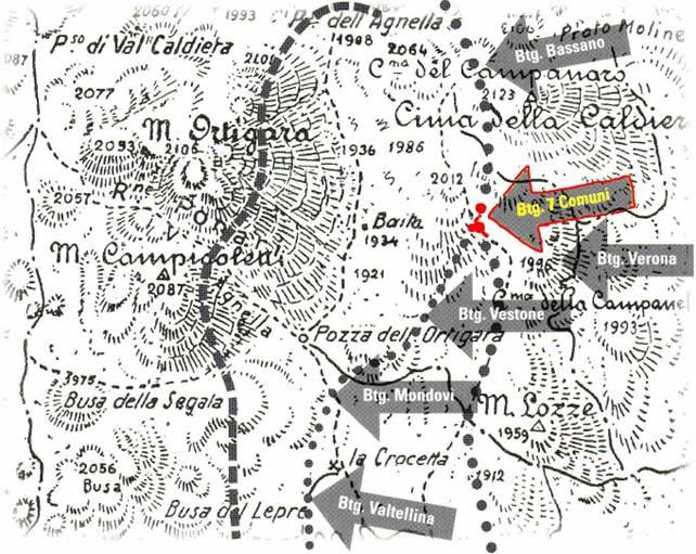 fronte Ortigara la storia della 145