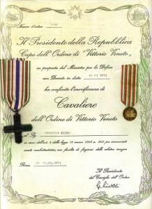 Cavaliere di Vittorio veneto